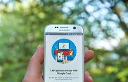 Google Lany app Obraz Stock