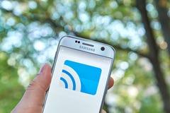 Google Lany app Zdjęcie Royalty Free