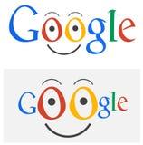 Google-Logokarikatur Lizenzfreie Stockfotografie