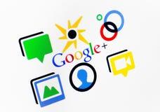 Google mais Imagem de Stock Royalty Free