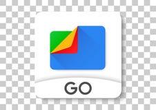 Google mappar går apksymbolen Fotografering för Bildbyråer