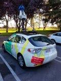 Google Maps车 免版税库存图片