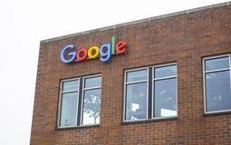 Google Maps-Hoofdkwartier in Seattle - SEATTLE/WASHINGTON - APRIL 11, 2017 Royalty-vrije Stock Afbeelding