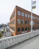 Google Maps-Hoofdkwartier in Seattle - SEATTLE/WASHINGTON - APRIL 11, 2017 Royalty-vrije Stock Foto's