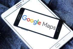 Google Maps logo Zdjęcie Royalty Free