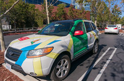Google maps street view car Stock Photo