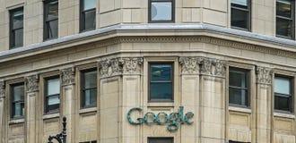 Google Montréal Royalty Free Stock Photography