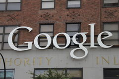 Google, in new york city Stock Photography