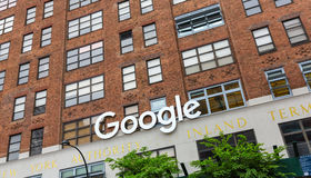 Google New York office Stock Images