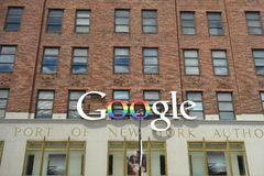 Google New York Offices Royalty Free Stock Photography
