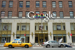 Google New York Offices Royalty Free Stock Photos