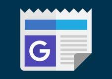 Google- News und Wetterapk Ikone