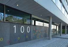 Google office in Zurich. Zurich, Switzerland - 24 June, 2015: Google office building. Google is a multinational technology company specializing in Internet Stock Photo