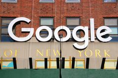 Google offices in new york city Stock Photo