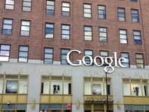 Google offies Νέα Υόρκη Στοκ Εικόνες