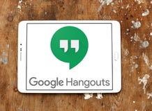 Google-Ontmoetingsplaatsenembleem royalty-vrije stock foto's