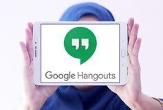 Google-Ontmoetingsplaatsenembleem royalty-vrije stock afbeeldingen