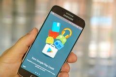 Google Opinion Rewards application Royalty Free Stock Photos