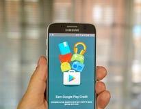 Google Opinion Rewards application Royalty Free Stock Photo