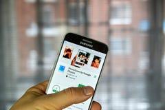 Google PhotoScan application Royalty Free Stock Photos