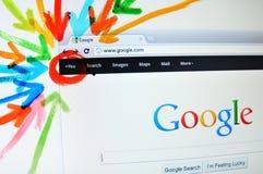 Google più Fotografie Stock