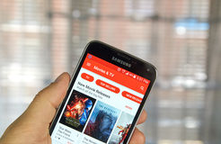 Google Play Entertainment Stock Photos