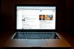 Google sieci rewizja odnosić sie Silvio Berlusconi Zdjęcia Royalty Free