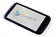 Google-Spiel lizenzfreie stockfotografie