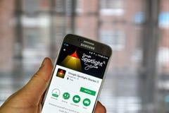 Google Spotlight Stories app Royalty Free Stock Photo
