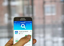 Google Springboard app Stock Images
