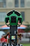 Google Street View camera  at work Royalty Free Stock Photography