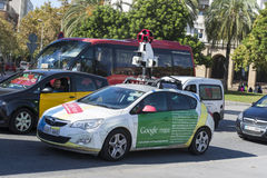 Google Street View Car Stock Images
