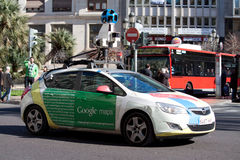 Google Street View Car Stock Photos
