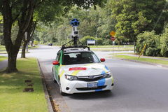 Google Street View Vehicle Stock Photos