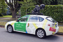 Google Street View Vehicle Stock Photo