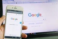 Google suchen Lizenzfreie Stockfotografie