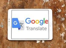 Google Tłumaczy loga Zdjęcia Royalty Free