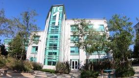Google-Technologie Sunnyvale stock footage