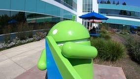 Google universitetsområde Android lager videofilmer
