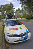 Google Vehicle. A vehicle used by Google to produce their street map images Royalty Free Stock Images