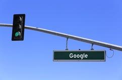 Google-Wereldhoofdkwartier Royalty-vrije Stock Afbeeldingen