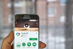 Google Wifi app Royalty Free Stock Photos