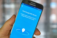 Google Wifi app Royalty Free Stock Image
