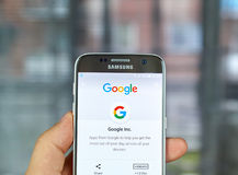 Google zastosowania i logo Fotografia Stock