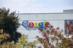 Google Zurich, Schweiz Arkivbilder