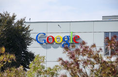 Google Zurique, Suíça Imagens de Stock