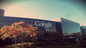 Googleplex fotografia stock libera da diritti