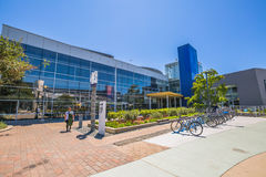 Googleplex bicycle Mountain View Royalty Free Stock Photography