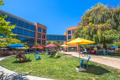 Googleplex Silicon Valley Royaltyfri Foto
