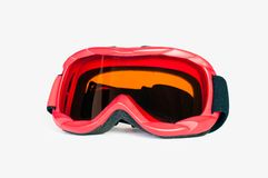 Googles de ski de Snowboard Photographie stock
